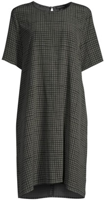 Eileen Fisher Textured Crepe Dress