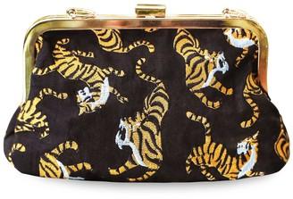 Brunna.Co Sumatran Tiger Clutch, Black