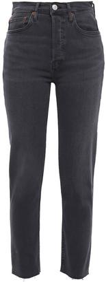 RE/DONE Ultra Stretch High-rise Skinny Jeans
