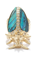 Rachel Roy Beetle Ring