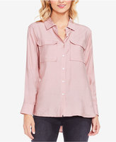 Vince Camuto TWO By Flowy Button-Front Shirt