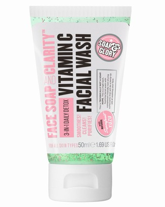 Soap & Glory Face, Soap & Clarity Travel Size Facial Wash