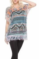 Adore Fringe Crochet Top