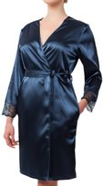 "New Rosme Womens Nightwear Sleepwear Dressing Gown, Collection ""Midnight In Paris"", Size XL"