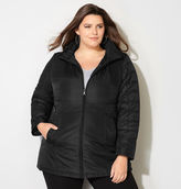 Avenue Hooded Puffer Jacket