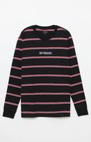 Obey Edgeware Striped Long Sleeve T-Shirt