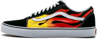Vans Old Skool 'FLAME' Shoes - Size 9.5