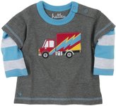 Hatley 2 In 1 Tee (Baby) - Big Rig Trucks-3-6 Months
