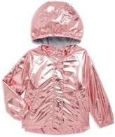 Hatley Little Girl's & Girl's Metallic Raincoat