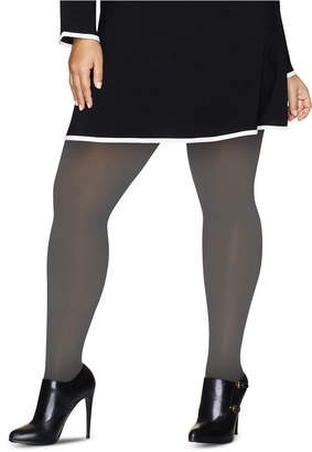 Hanes Curves Plus Size Opaque Tights