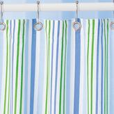 Shower Curtain (Blue and Green Stripes)72 x 72""
