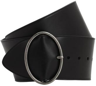Saint Laurent 80mm Leather Belt