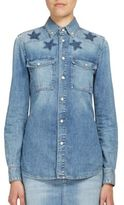 Givenchy Star-Detail Denim Shirt