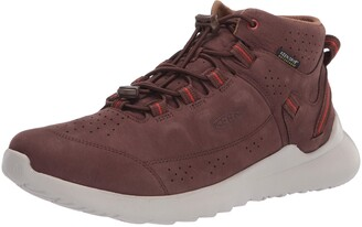 Keen Men's Highland Leather Waterproof Chukka Sneaker