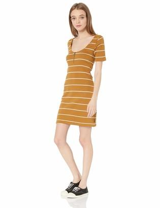 RVCA Junior's Donner Scoop Neck Dress