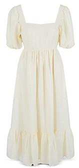 WAYF Lucca Cutout Midi Dress