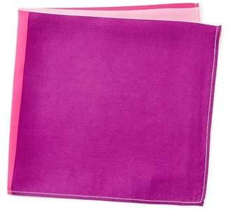 Nordstrom Rack 4 Panel Solid Silk Pocket Square