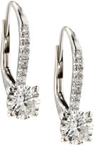 Diana M. Jewels 18k White Gold Diamond Drop Earrings, 1.37tcw