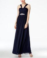 B. Darlin Juniors' Embellished Halter Dress
