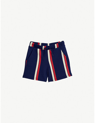 Mini Rodini Striped organic cotton-jersey shorts 4-11 years