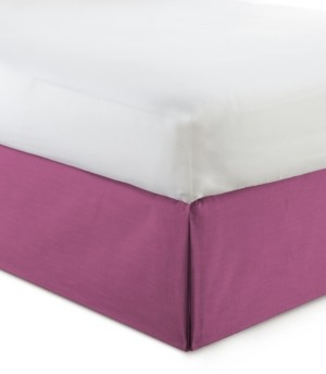 "Colcha Linens Cambric Berry Bedskirt 18""-Queen Bedding"