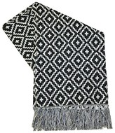 Threshold Outdoor Throw Blanket - Black Diamond
