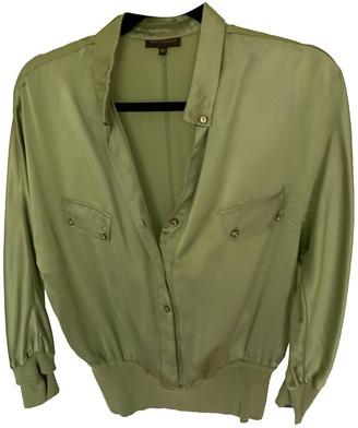 Adolfo Dominguez Khaki Cotton Top for Women