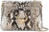 J.W.Anderson mini Python Pierce crossbody bag - women - Python Skin - One Size
