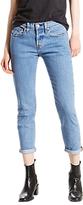 Levi's 501 Mid Rise Tapered Jeans, Amerika Blue