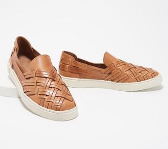 Frye Leather Slip-On Shoes - Ivy Huarache
