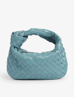 Bottega Veneta Jodie intrecciato mini leather hobo bag