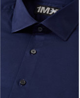 Express Modern Fit Spread Collar 1MX Shirt