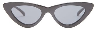 Le Specs The Last Lolita Cat-eye Sunglasses - Womens - Black
