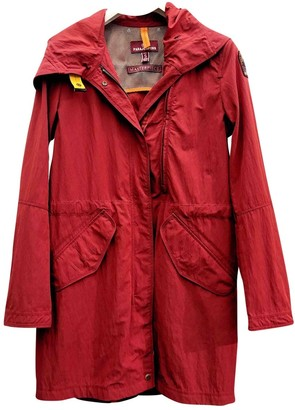 Parajumpers Red Polyester Coats