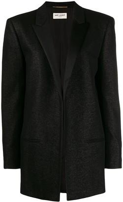 Saint Laurent Notched collar tuxedo jacket
