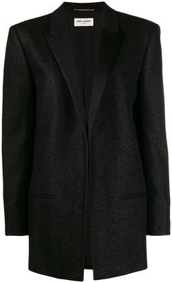 Saint Laurent Notched collar tuxedo jacket