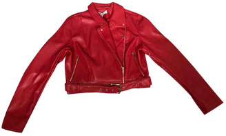 House Of CB Red Polyester Jackets