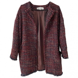 Gerard Darel Red Wool Coat for Women