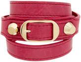 Balenciaga Wrap Around Leather Bracelet
