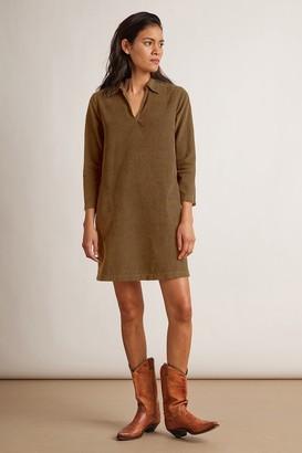 Velvet by Graham & Spencer Lana Corduroy Shirt Dress