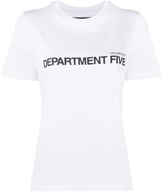 DEPARTMENT 5 logo print T-shirt