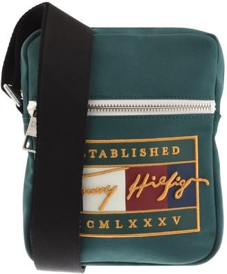 Tommy Hilfiger Signature Mini Reporter Bag Green