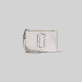 Marc Jacobs The Snapshot Metallic DTM Top-Zip Multi Wallet