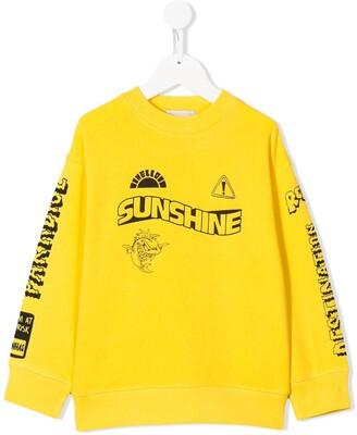Stella McCartney Kids Sunshine print sweatshirt