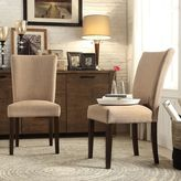 HomeVance Denargo 2-pc. Linen Parson Side Chair Set