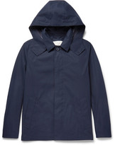 MACKINTOSH Bonded-Cotton Hooded Rain Jacket