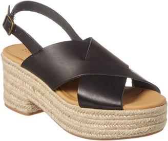 Soludos Amalfi Leather Espadrille Sandal