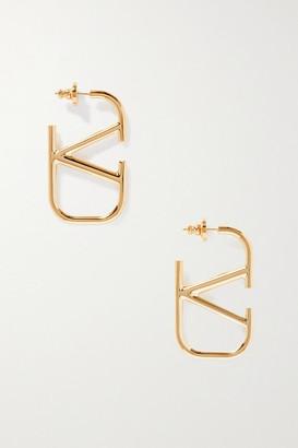 Valentino Garavani Gold-tone Earrings - one size