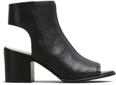 Kenneth Cole Charlo Perforated Open-Toe Bootie