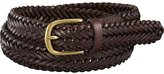Uniqlo Men's Leather Woven Belt